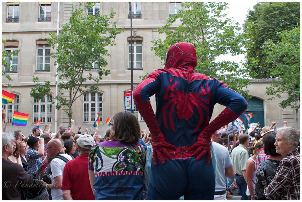 Spiderman et la Gay Pride