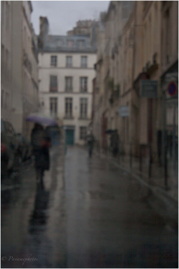 Jour de pluie sur Paris