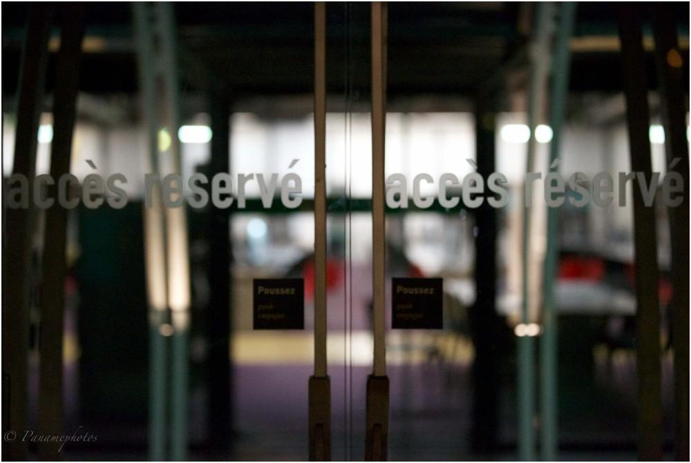 accès réserver