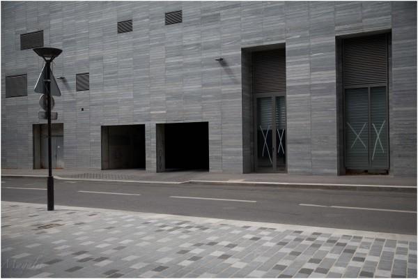 Géométrie en gris