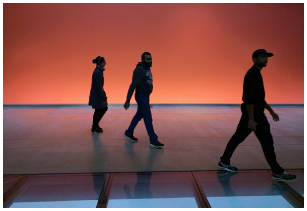 Musée D'Orsay Homme qui marche Couleurs