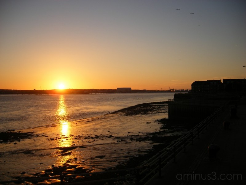 mersey,sunset