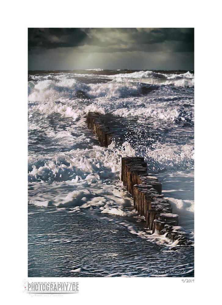 Stormy sea / Stürmische See