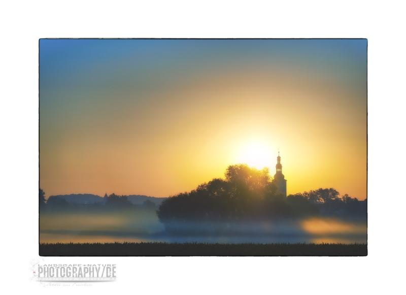 Misty Sunrise in the Aisch meadows