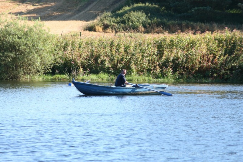 Salmon fishing on the Tweed