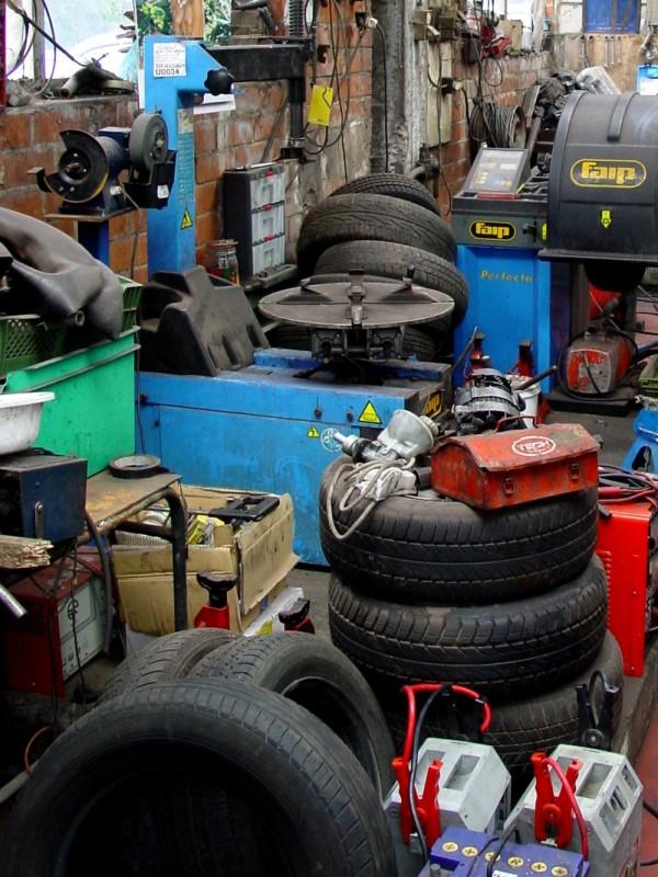 garage in Gent