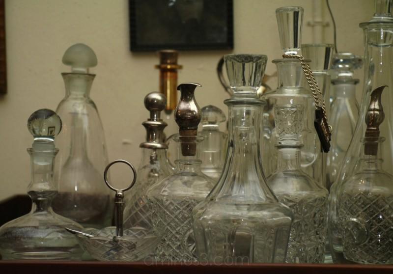 christal bottles