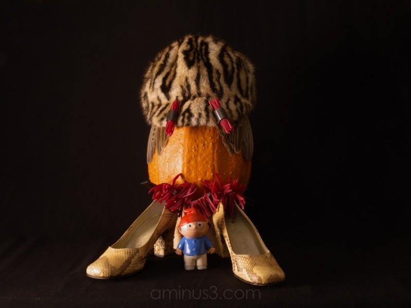 not a statement from a pumpkin with an ocelots hat