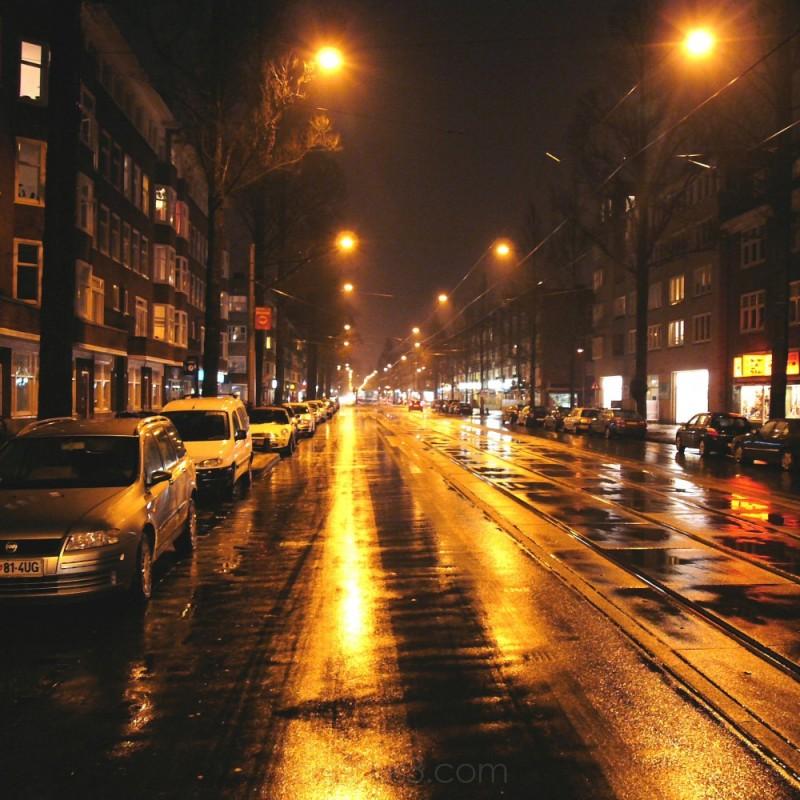Rijnstraat by night