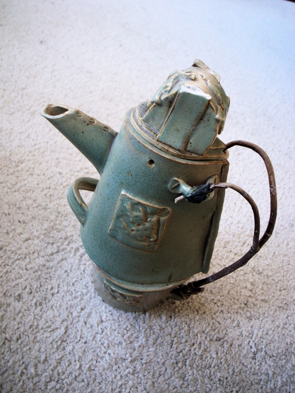 Tin Men's Teapot
