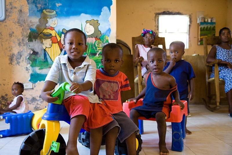 port de paix, haiti children