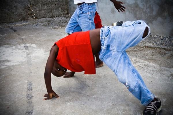 haiti kids dance