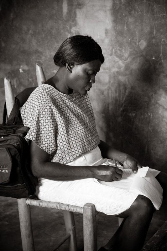 haitian school teacher