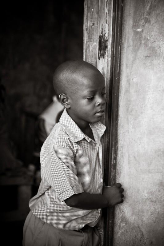 Haitian boy