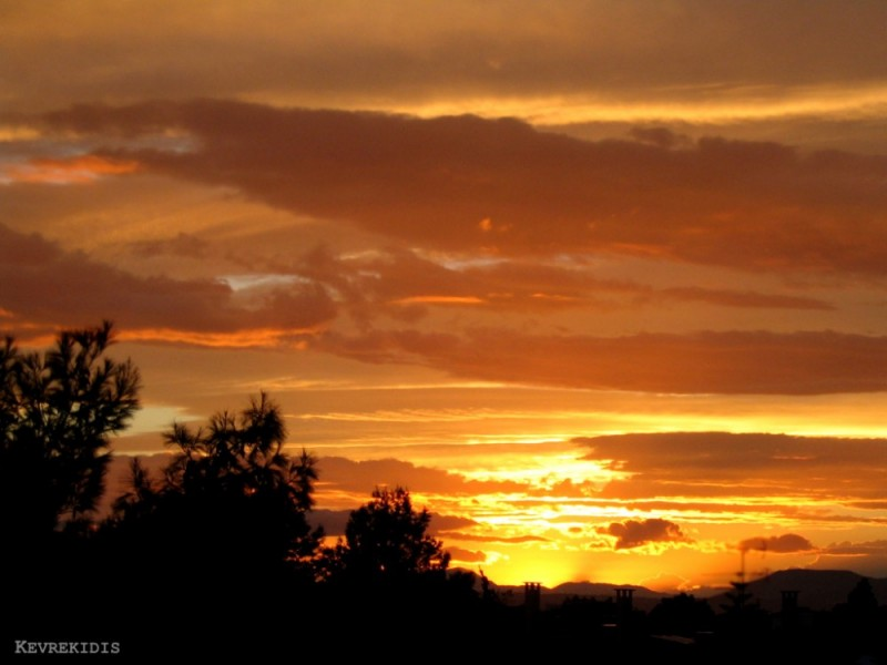 Eretria Greece Evia sky sunset sunrise Aegean sea