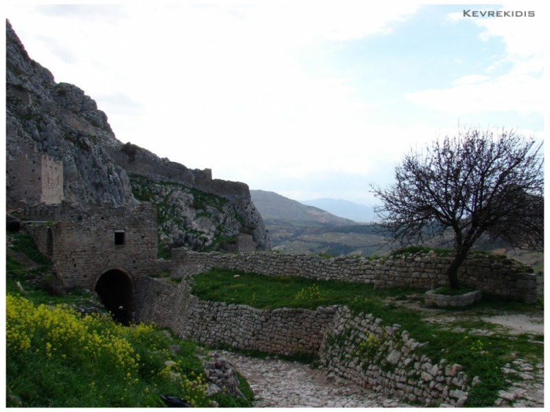 Acrocorinth medieval castle - Greece