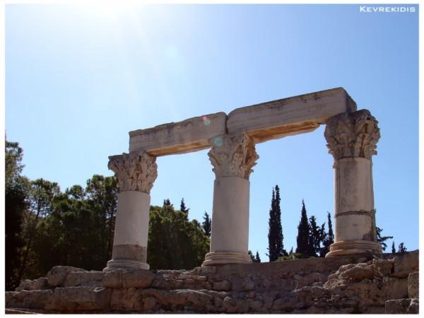 Ancient Corinth - Greece, Temple of Octavia