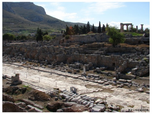 Ancient Corinth - Greece, Lechaion Road