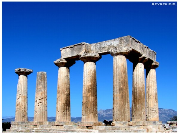 Ancient Corinth - Greece, Temple of Apollo
