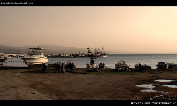 Amarynthos (Vatheia) – Evia, Greece.
