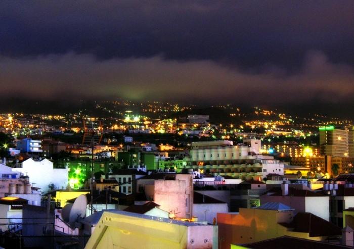 Spots lights on the city, nuit de couleurs
