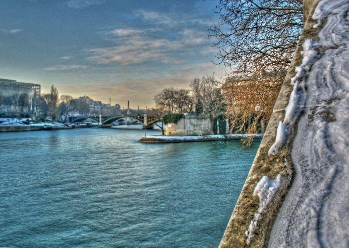 snow in Paris, neige à Paris