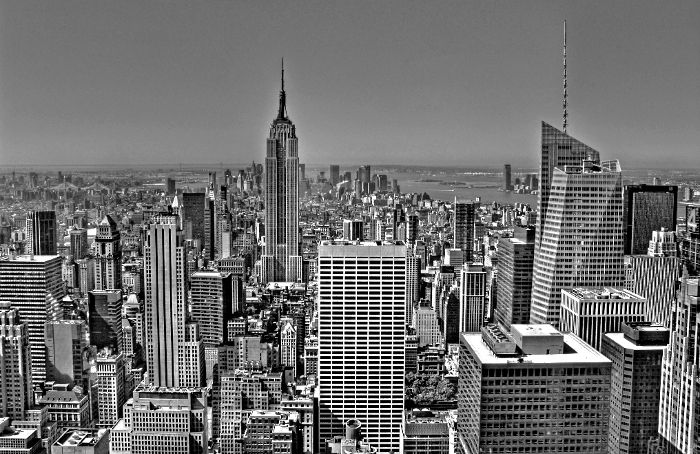 New York empire state building Rockefeller
