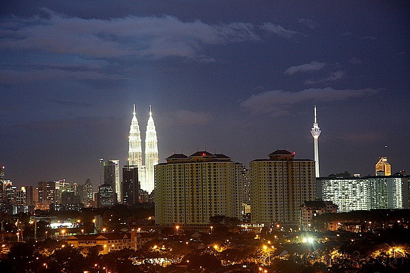 klcc view from gombak