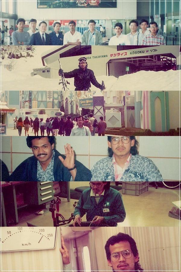 japan visit 1989