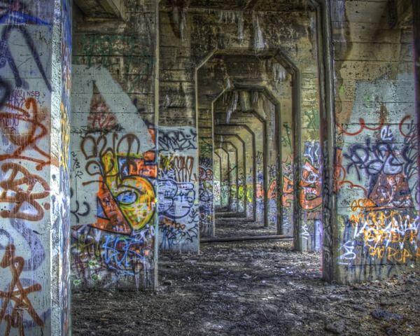 Graffiti HDR