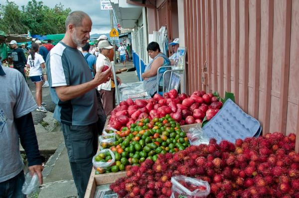 Chuck and the Fruit Stand