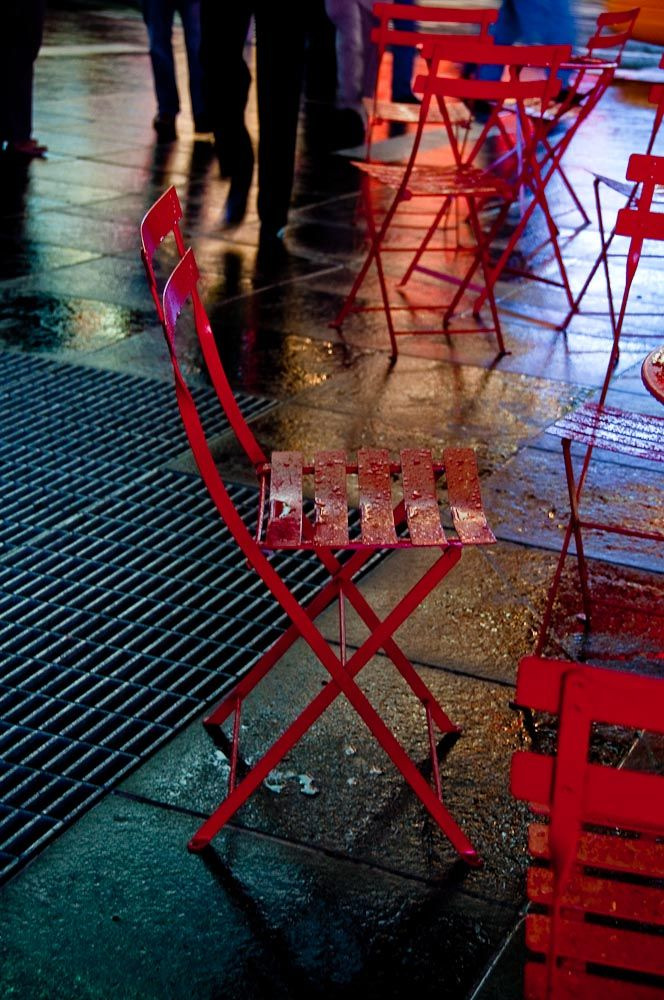 Red Chairs II