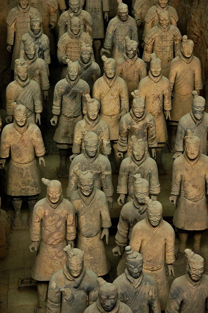 Clay Warriors in China