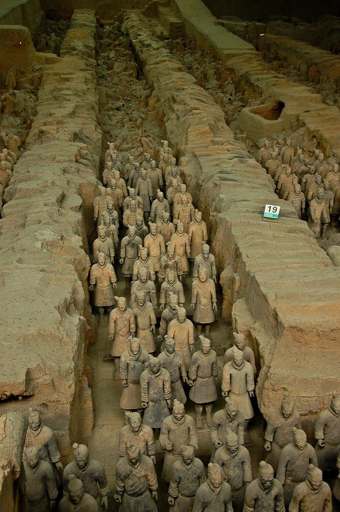 More Clay Warriors...in China
