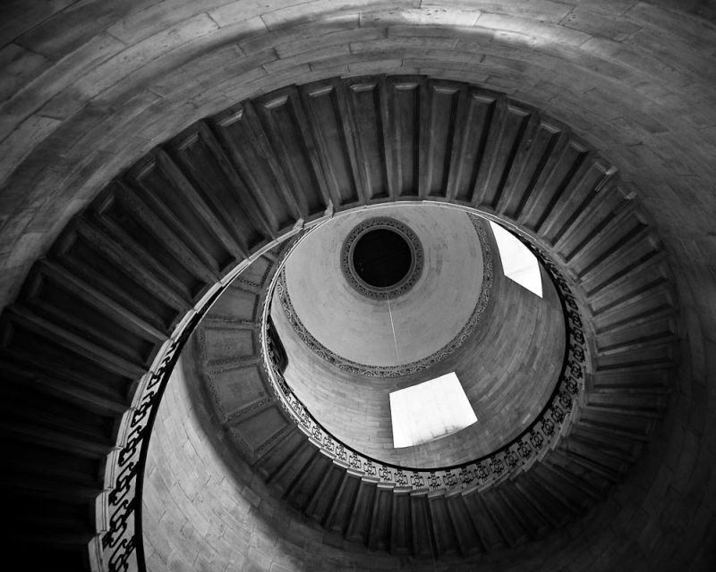 Spiral Staircase in St. Paul