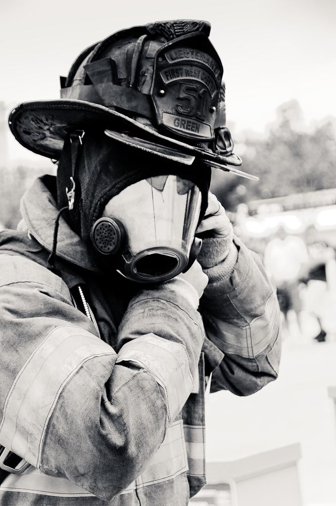 Uniform of a Fire Fighter