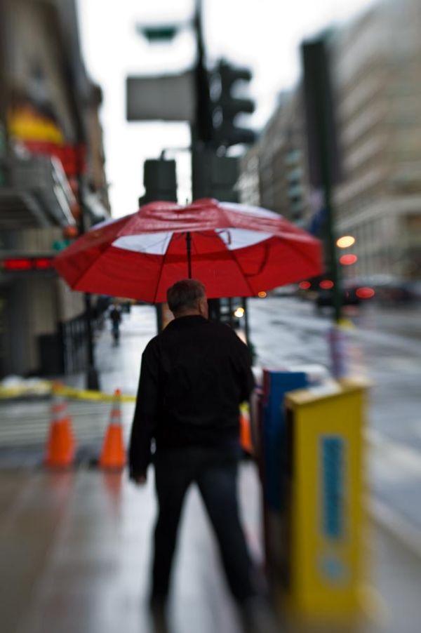 Umbrella in Washington, DC