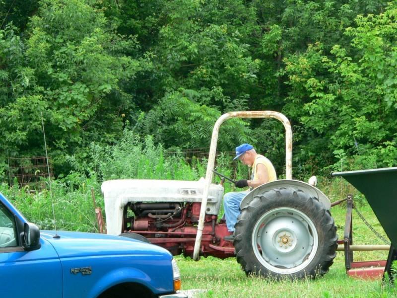 Tractor man!