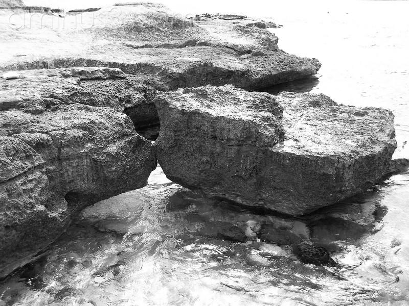 beso en roca