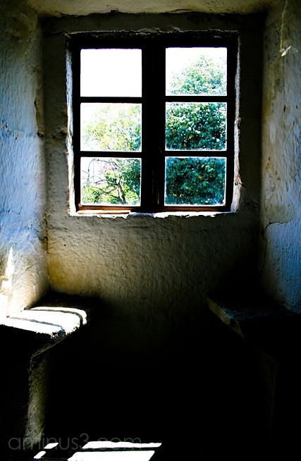 a window to escape