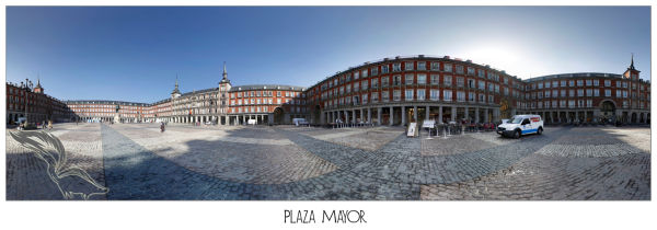 Panoramica Plaza Mayor (Madrid)