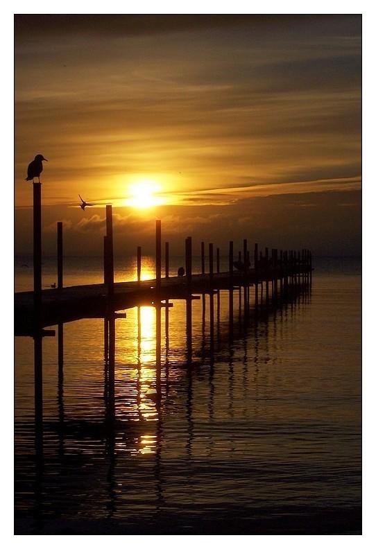 Sunrise in Denmark