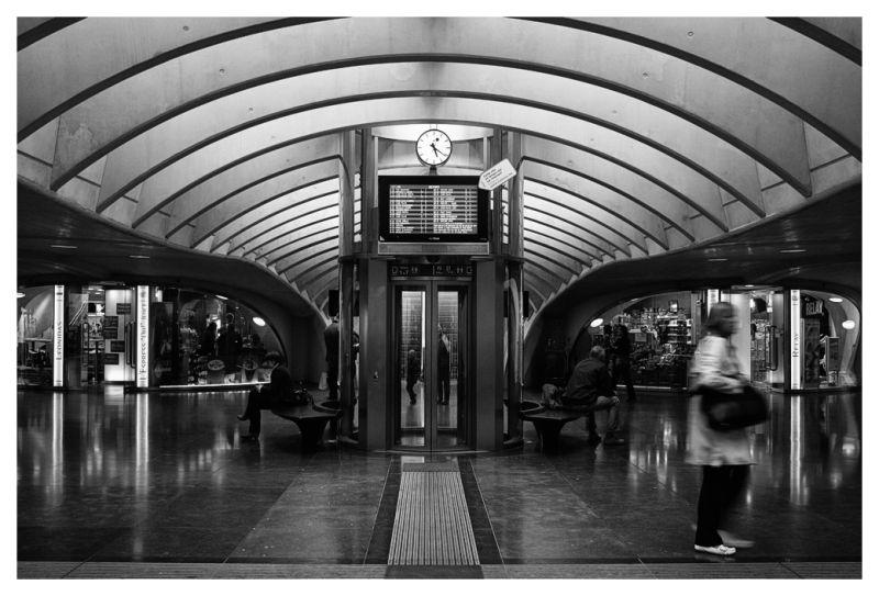 La gare de Liege