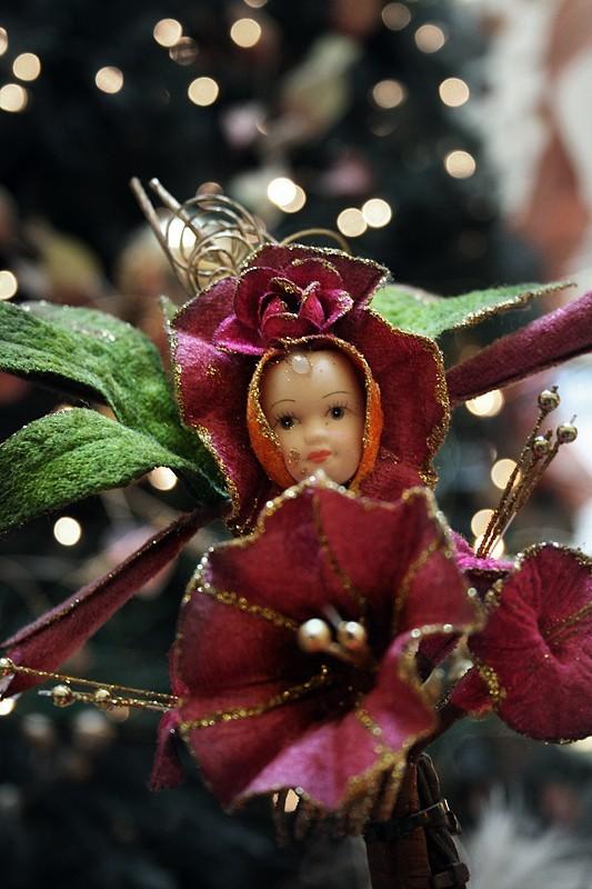 Doll ornament