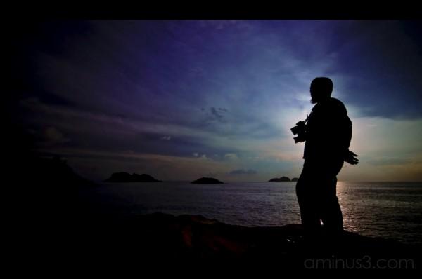 Silhouette Kupih Sunrise Redang Island