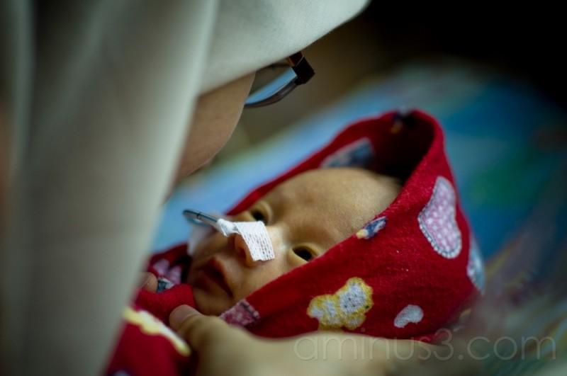 Kupih Azwida Hawa Baby Premature Bokeh