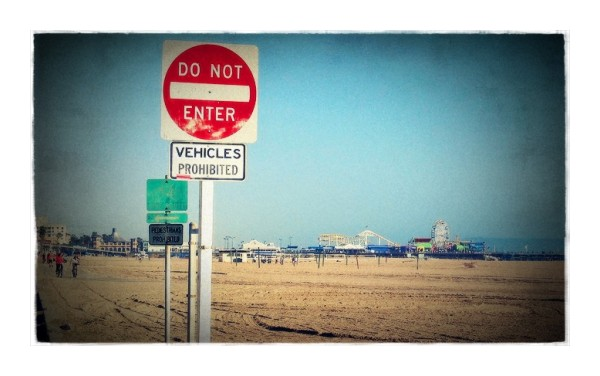 vehicles prohibited