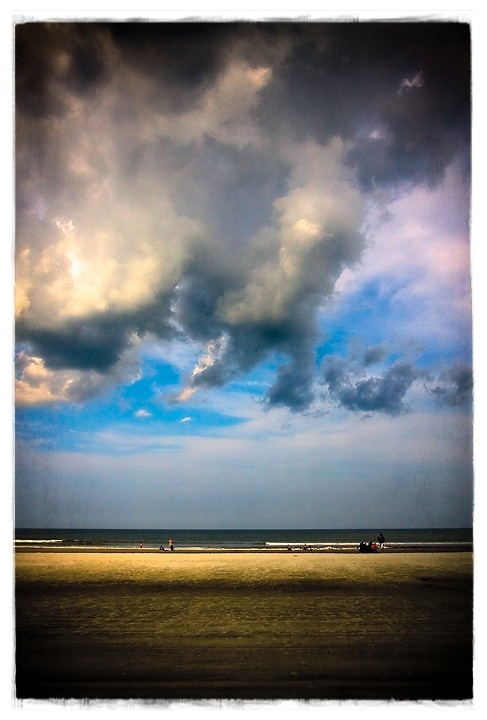 more clouds at saint augustine beach