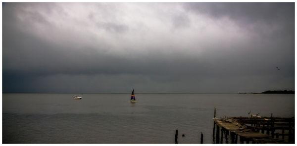Cedar Key Storm approaching