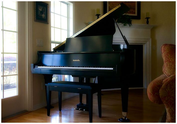 our new piano